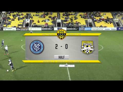2015 Carolina Challenge Cup - New York City FC vs. Charleston Battery