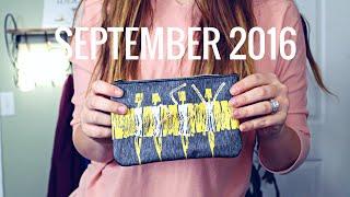 September Ipsy Bag | 2016