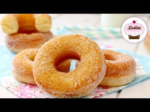 Receta de donas caseras | Como hacer donas | Donas de azúcar