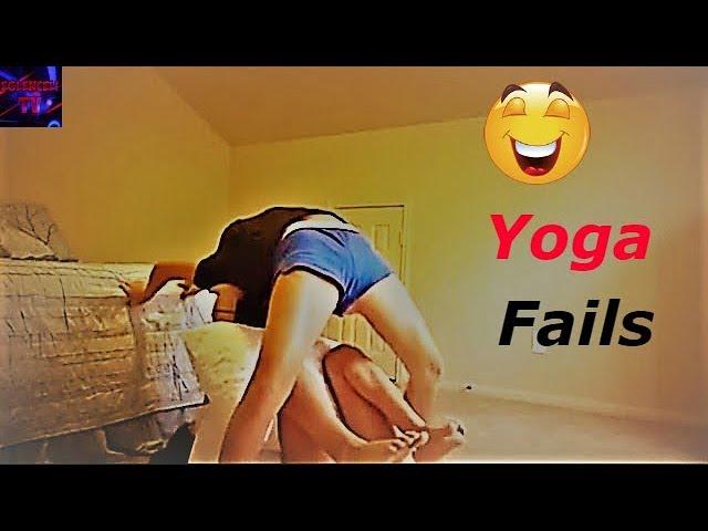 En Komik ve Talihsiz Yoga Kazaları izLe ⚫ Funny Yoga Fails Compilation