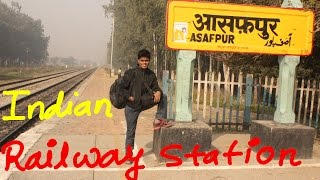 Typical Indian Railway Station | Travel India | Indian Train Station Life
