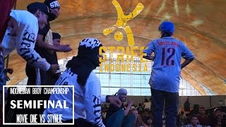 NOVIE ONE VS STYNLIE | SEMIFINAL BGIRL BATTLE - IBC 2015 | STRIFE.TV INDONESIA