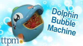 Dolphin Bubble Machine from KidzLane