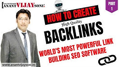 Create Backlinks from World's Most Powerful Link Building SEO Software - Money Robot