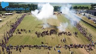 Succesvolle Slag van Heiligerlee (video)