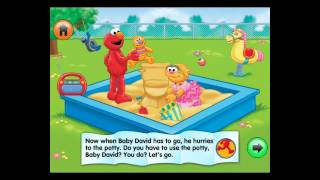 iPad Best Apps-Potty Time with Elmo