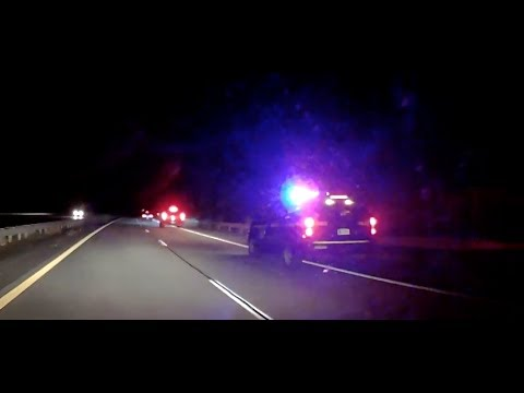 New York State Trooper Pulls Over A Speeding Vehicle