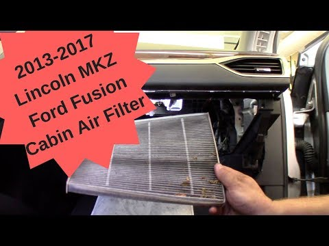2013-2017 Lincoln MKZ Cabin Air Filter Replacement
