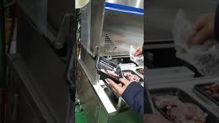 실린더방식  반자동 진공스킨포장기