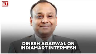 Earnings With ET NOW | STRONG REVENUE DRIVES Q2 | Dinesh Agarwal, IndiaMART InterMESH