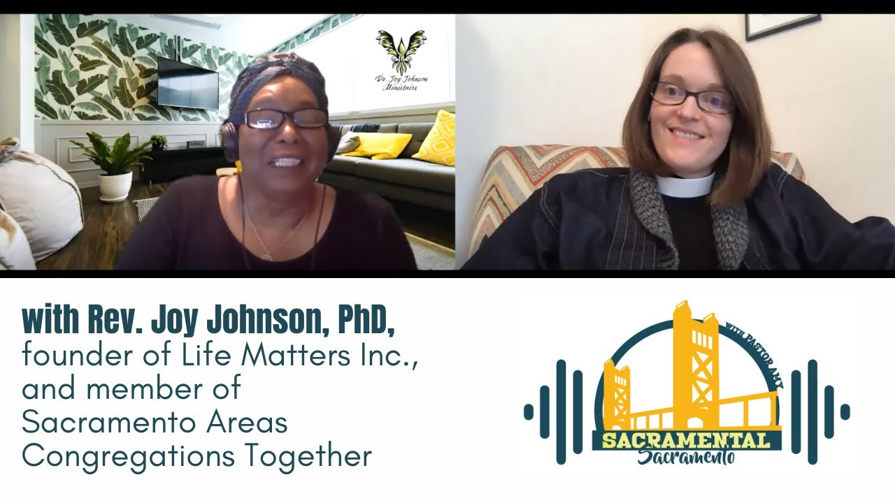 Pastor Amy Kienzle and Rev. Joy Johnson