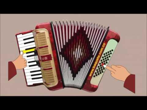 LAS CANCIONES MÁS FÁCILES PARA QUE LAS APRENDA EN TU ACORDEÓN PIANO GRATIS