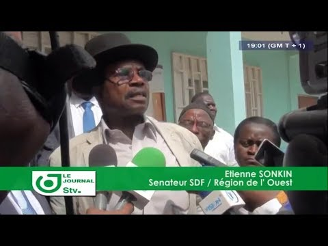 JOURNAL STV 19H00 -(SESSION PARLEMENTAIRE : Le SDF BOYCOTTE)- 14 Novembre 2017 - Leila Reine NGANZEU
