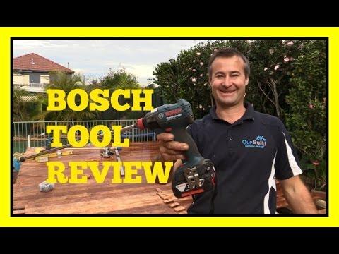 Tool Review - BOSCH Professional GDX 18 V-EC Impact Driver