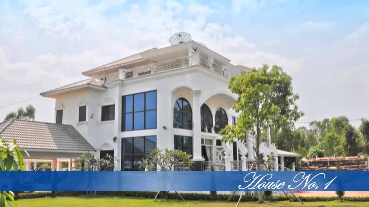 New Luxury Home Project In Udon Thani Thailand Youtube