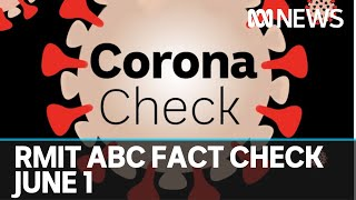 RMIT ABC 'Corona check' is here to sort reality from the fake news, June 1 | ABC News