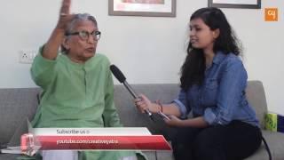Padmashri مهندس BV دوشي يتحدث عن Piraji Sagara مع www.creativeyatra.com