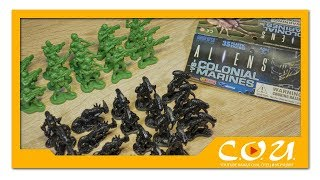 Солдатики Чужие против Колониальных Морпехов | Aliens vs Colonial Marines | Diamond Select Toys