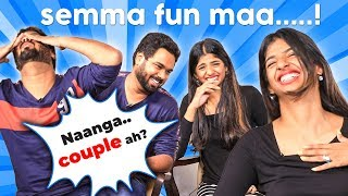 """Nanga COUPLE ah?"" - Put Chutney Dipshi & Rahul's RELATIONSHIP Revealed! Super Fun 