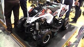2015 Italjet Sharper 125 Quad ATV - Walkaround - 2014 EICMA Milan Motorcycle Exhibition