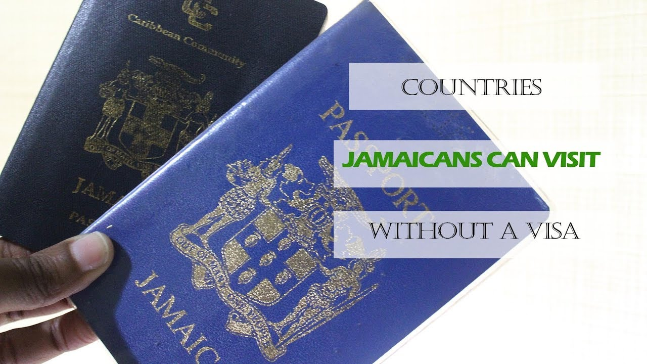 Countries Jamaicans can visit without a Visa