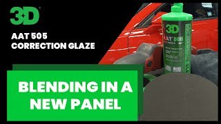 505 Correction Glaze blending in a new panel