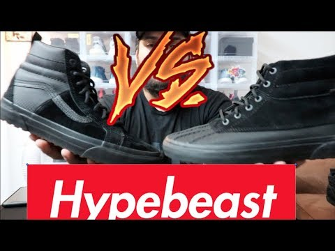 98086a1a6a VANS X THE NORTH FACE SK8 HI MTE REVIEW + ON FEET - YouTube