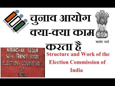Functioning and Power of Election commission in India