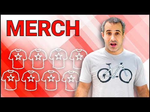 Selling merchandise from your channel - YouTube