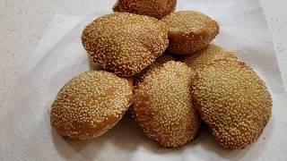 Sesame Hollow Donuts Recipe(Banh Tieu)