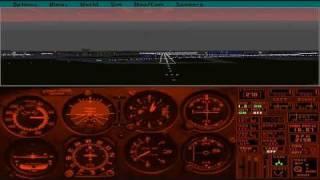 Flight Simulator 5.1: Meigs (KCGX) to Chicago O