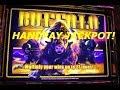25c denom $$ HANDYPAY JACKPOT !!! High Limit  Buffalo Slot machine Free Spin Pokie Bonus