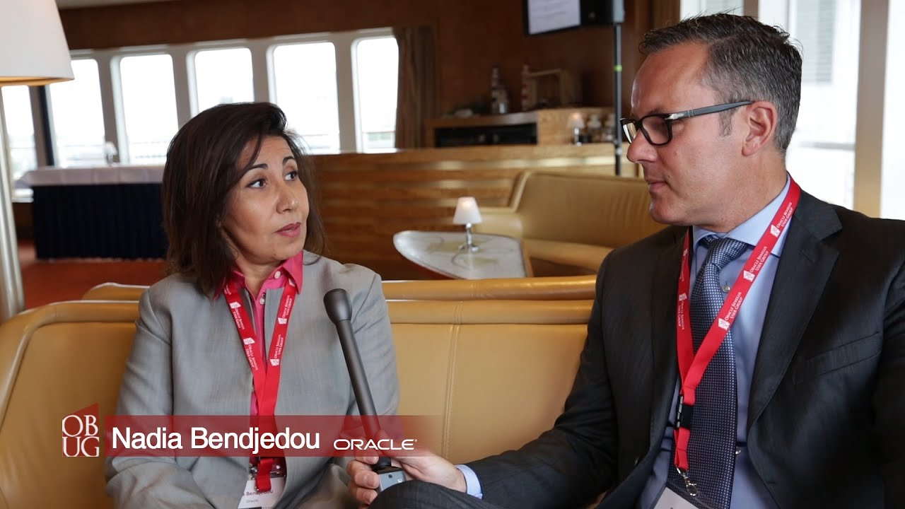 Obug EBS day  SS Roterdam interview Nadja Bendjedou
