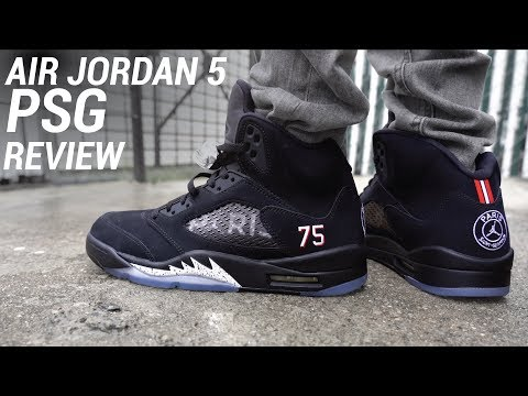 Air Jordan 5 Paris Saint Germain PSG Review & On Feet