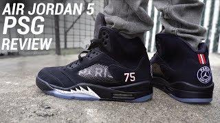 Air Jordan 5 Paris Saint Germain PSG Review & On Feet