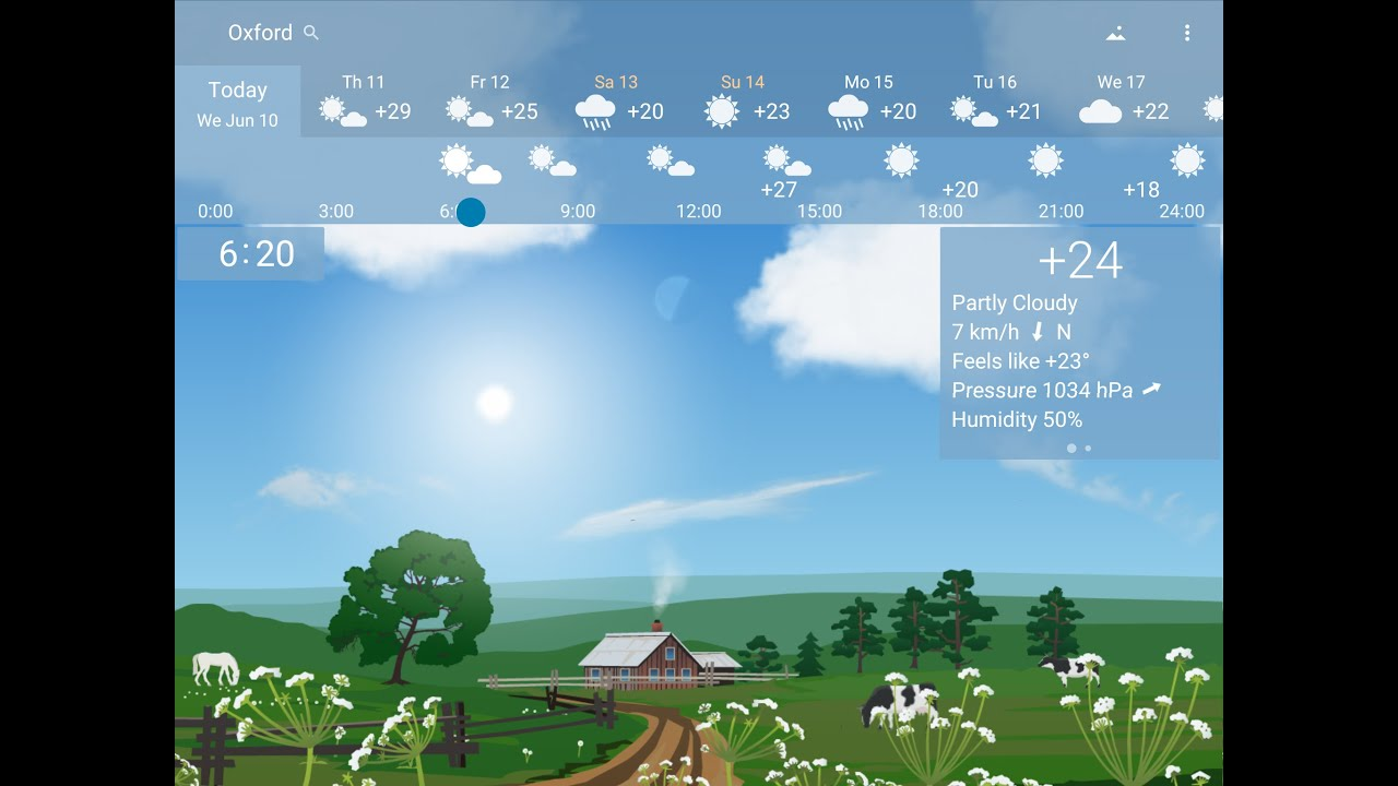 15 best weather apps and weather widgets for Android! - Android