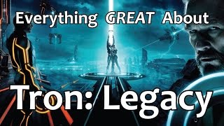 everything great about tron legacy