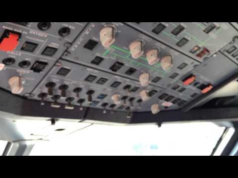Airbus A320, Arranque de APU con Baterías.