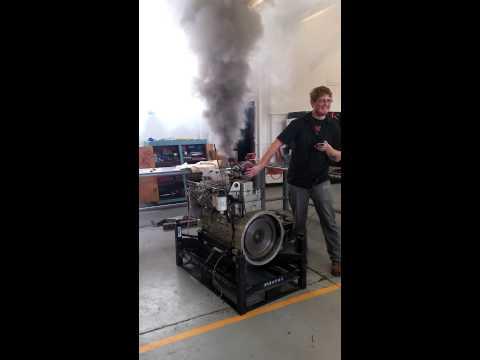 Diesel class Cummins 12v runaway