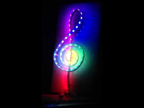 G-CLEF Musical Symbol Prototype Wall Hanging by Peter H. Rosen