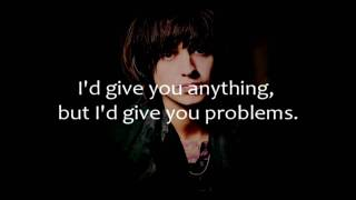 4 Chords Of The Apocalypse - Julian Casablancas - Lyrics on Screen