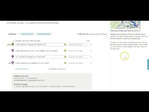 How To Use Mapquest Route Me