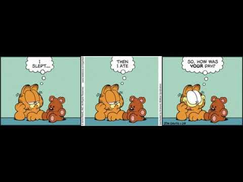 Garfield Comic Dub Garfield Having A Conversation With Pooky Youtube
