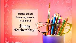 Happy Teachers Day 2020 | Teachers Day Watsapp Status | Teachers Day Wishes | Teachers Day Status