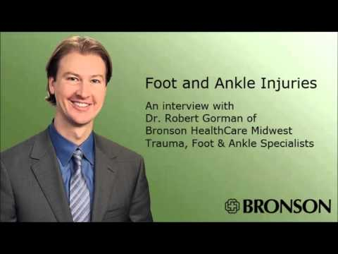 Foot and Ankle Injuries Radio Chat with Dr. Robert Gorman