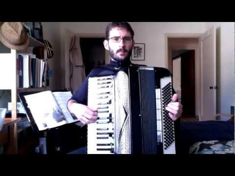 Schneewalzer (Snow Waltz) - accordion