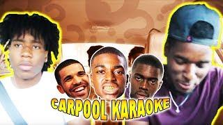 CARPOOL KARAOKE: LIT SONGS FT ( Drake, Sheck Wes, Kodak Black & More)