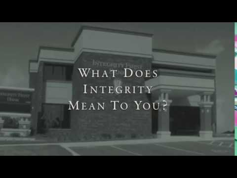 INTEGRITY FIRST BANK - A