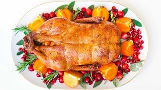 Oven-Roasted Duck for the holidays!