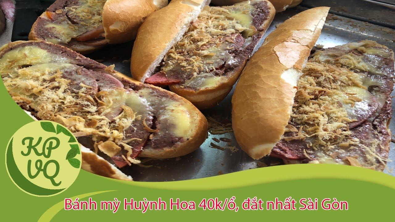 Có gì bên trong ổ bánh mì Huỳnh Hoa đắt nhất Sài Gòn, 40.000 đồng/ổ